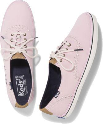 Keds Champion Pennant Pink, Size 6m Women Inchess Shoes