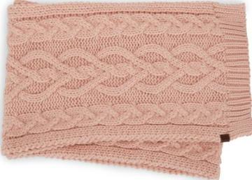Keds Cable Knit Scarf Evening Sand, Size One Size Women Inchess Shoes
