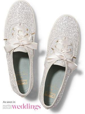 Keds X Kate Spade New York Champion Glitter Cream Glitter, Size 5.5m Women Inchess Shoes
