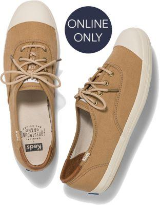 Keds X Forestbound Champion Tan, Size 5m Women Inchess Shoes