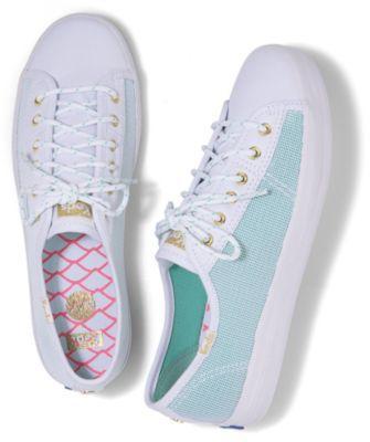 Keds X Alaina Marie Kickstart Mesh Waves Aqua, Size 5m Women Inchess Shoes