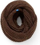 Keds Chunky Knit Infinity Scarf Cocoa Brown