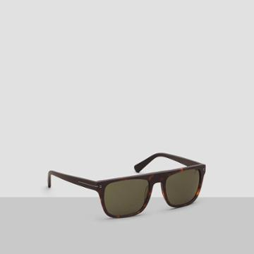 Kenneth Cole New York Flat-top Square Sunglasses - Hrno/smkpz