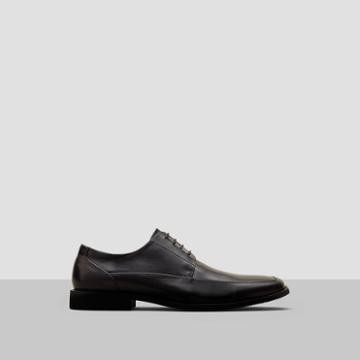Reaction Kenneth Cole Bottom Line Burnished Leather Shoe - Black