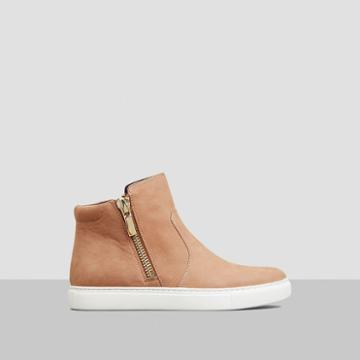Kenneth Cole New York Kiera Nubuck Sneaker - Almond