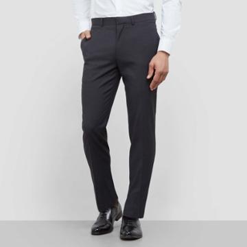 Kenneth Cole New York Techni-cole Classic Dress Pant - Black