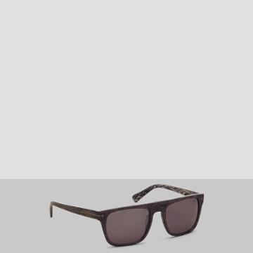 Kenneth Cole New York Flat-top Square Sunglasses - Dhav/grnpz