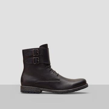 Reaction Kenneth Cole Above Par Leather Boot - Grey