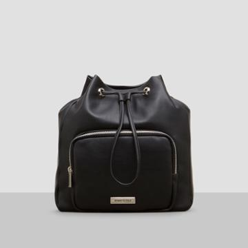 Reaction Kenneth Cole Ruby Bucket Backpack - Black