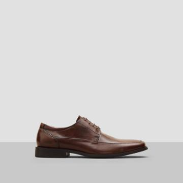 Reaction Kenneth Cole Bottom Line Burnished Leather Shoe - Brown