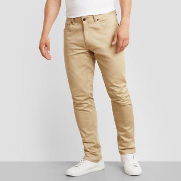 Kenneth Cole New York Classic Slim Fit Pant - Khaki