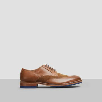 Reaction Kenneth Cole Move-ment Leather Shoe - Brown Comb
