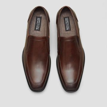 Reaction Kenneth Cole Digit-al Age Leather Loafer - Brown