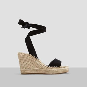 Kenneth Cole New York Odile Espadrille Wedge - Black