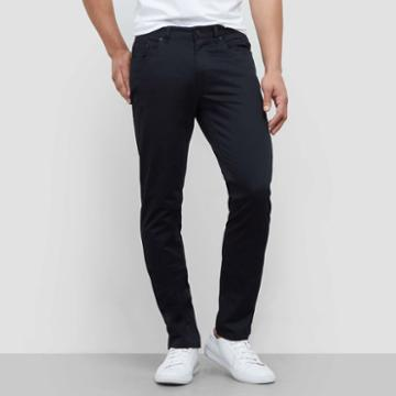 Kenneth Cole New York Classic Slim Fit Pant - Black