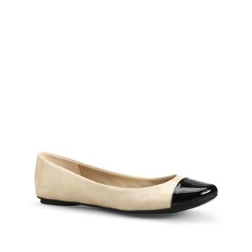 Kenneth Cole Reaction Slipified Flat - Shoe - Nude/black