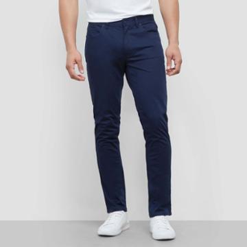 Kenneth Cole New York Classic Slim Fit Pant - Indigo
