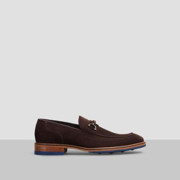 Reaction Kenneth Cole Move Ur-self Suede Loafer - Brown