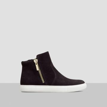 Kenneth Cole New York Kiera Nubuck Sneaker - Black