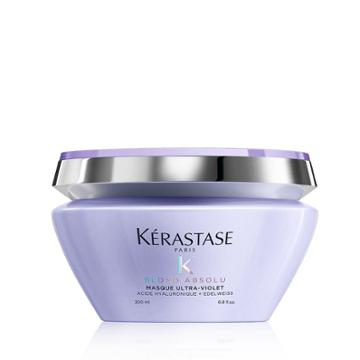 Kerastase Blond Absolu Masque Ultra-violet Purple Hair Mask 6.8 Fl Oz / 200 Ml