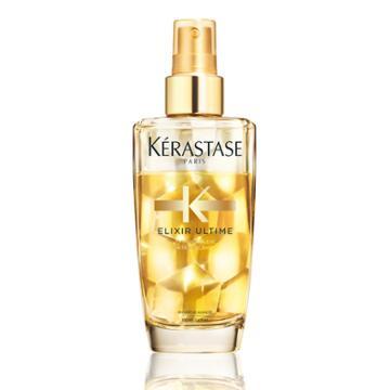 50.00 Usd Kerastase Elixir Ultime Bi Phase Spray Oil For Fine Hair 3.4 Fl Oz / 100 Ml