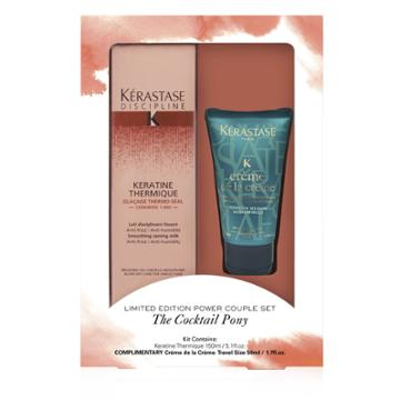 43.00 Usd Kerastase Limited Edition Power Couple Set The Cocktail Pony Hair Set