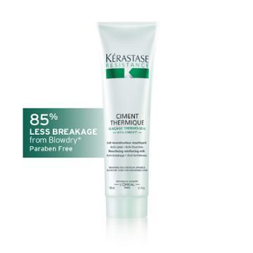 Kérastase Official Site Krastase Rsistance Ciment Thermique - Fiber Strengthening Hair Milk