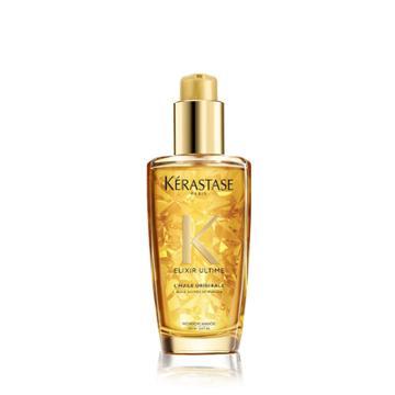 Kerastase Elixir Ultime Original Hair Oil For Thick Hair 3.4 Fl Oz / 100 Ml