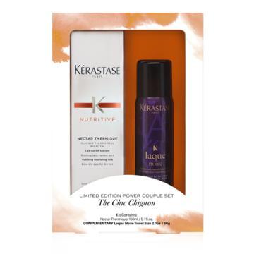 43.00 Usd Kerastase Limited Edition Power Couple Set The Chic Chignon Hair Set