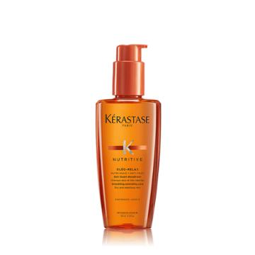 Kerastase Nutritive Serum Oleo Relax Hair Serum For Frizzy Hair 4.2 Fl Oz / 125 Ml