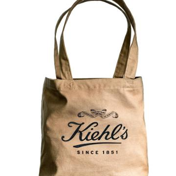 Kiehls Earth Day Canvas Tote