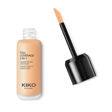 Kiko - Full Coverage 2-in-1 Foundation & Concealer - Warm Beige 15