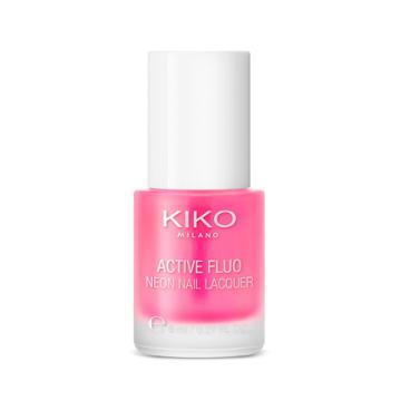 Kiko - Active Fluo Neon Nail Lacquer -