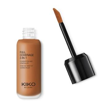 Kiko - Full Coverage 2-in-1 Foundation & Concealer - Neutral 145