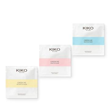 Kiko - Green Me On-the-go Masks