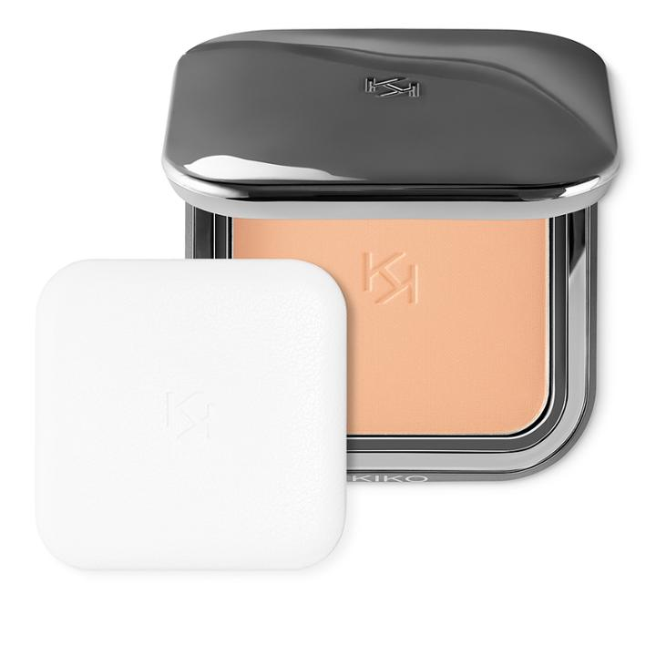 Kiko - Matte  Fusion Pressed Powder - 05 Peach Rose