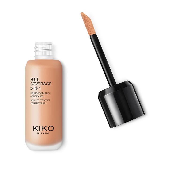Kiko - Full Coverage 2-in-1 Foundation & Concealer - Warm Rose 50
