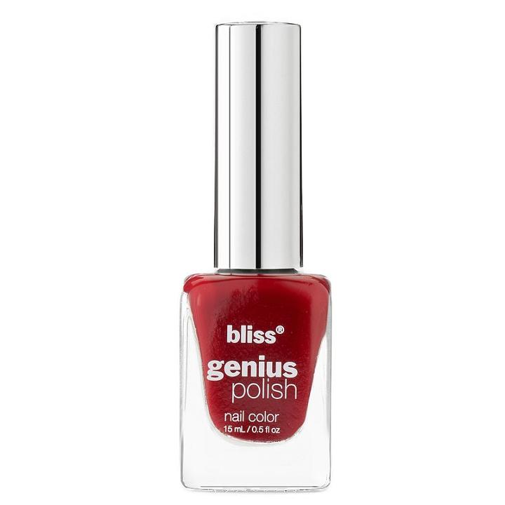Bliss Genius Nail Polish - Well Red