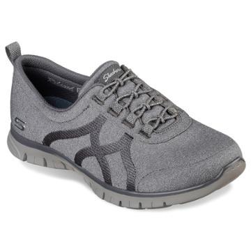 Skechers Relaxed Fit Ez Flex Renew Women's Slip-on Shoes, Size: 8, Dark Grey