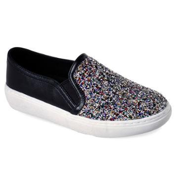 Skechers Street Goldie Treasure Chest Women's Slip On Shoes, Size: 9, Blue