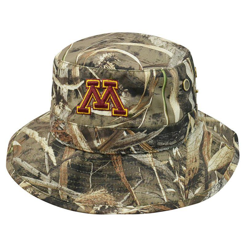 e12899874a5 Adult Top Of The World Minnesota Golden Gophers Realtree Camouflage Boonie  Max Bucket Hat