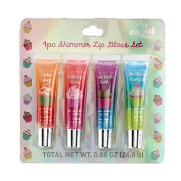 Girls 4-16 Sweet Treat Shimmer Lip Gloss Set, Multi