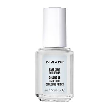 Essie Prime & Pop Base Coat For Neons Nail Polish, Multicolor