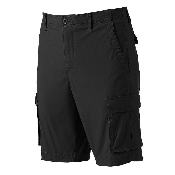 94bd948d48 Apt. 9Men's Apt. 9® Premier Flex Modern-fit Stretch Cargo Shorts, Size:  33, Black