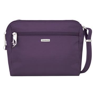 Travelon Classic Convertible Crossbody Bag & Waist Pack, Women's, Purple