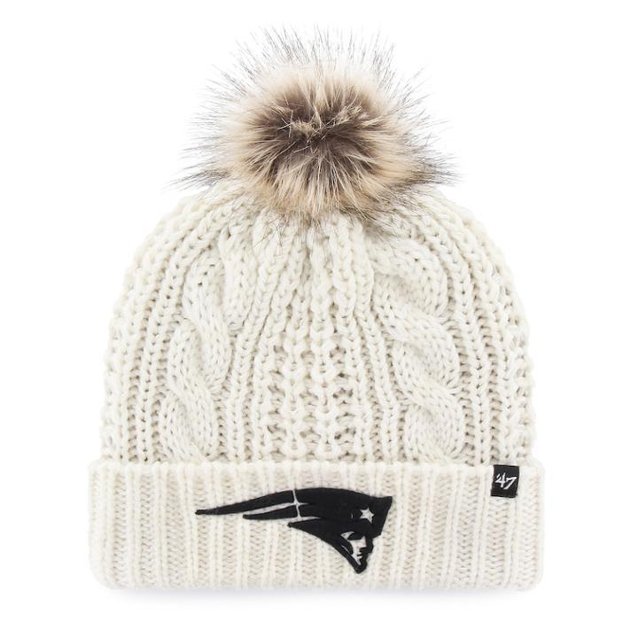 47 BrandWomen s  47 Brand New England Patriots Meeko Cuffed Knit Hat 8d8629f51