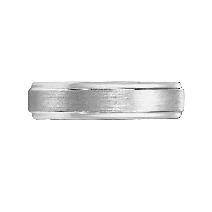 Cherish Always Tungsten Carbide Wedding Band - Men, Size: 9.50, Grey