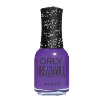 Orly Breathable Treatment & Color Nail Polish - Pick Me Up, Drk Purple