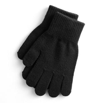 Women's So® Solid Tech Gloves, Black