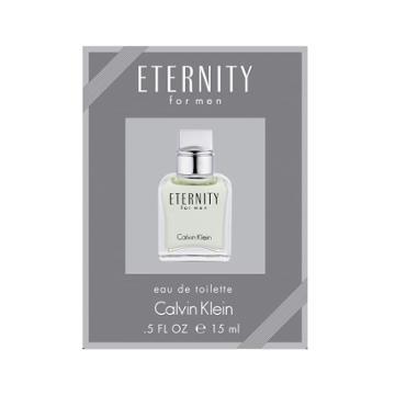 Calvin Klein Eternity For Men Mini Cologne - Eau De Toilette, Multicolor